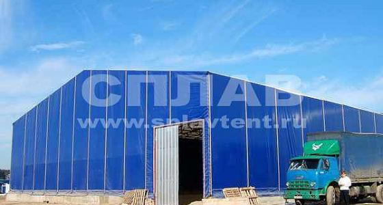 Быстровозводимые склады, складские и торговые (сезонные) укрытия