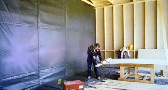 Тепляки и строительные укрытия